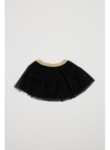 DeFacto Kız Bebek Tütü Etek Siyah